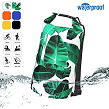 Deer Mum Waterproof Dry Bags Top Roll Sack 10L/20L for Floating Boating Kayaking Fishing Swimming Camping Hiking Water Sports Sailing Biking Adventures Outdoors Shoulder Pack