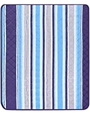 EFIXTK Extra Large Picnic Beach Blanket,Machine Washable Outdoor Mat Tote Great for the Camping Travelling on Grass Waterproof Sandproof