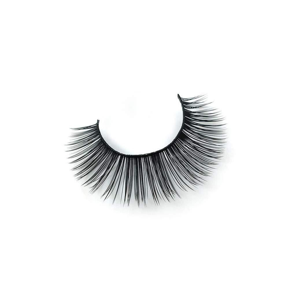 3 Pairs 3D Long Natural Thick Handmade Fake False Eyelashes Eye Lashes Fluffy St Gift for Health /& Beauty