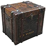 BOWERY HILL Trunk End Table in Antique