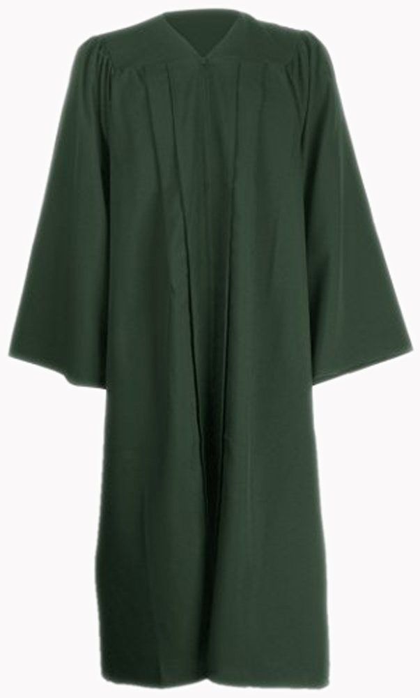 Ivyrobes Unisex Adults Matte Choir Robe X-Large Forest Green 54