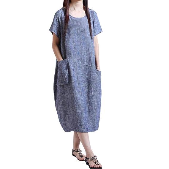 POLP Vestidos ◉ω◉ Mujer Camisetas Manga Cortas//Mujer Vestir Ropa//Mujer Sexy Falda Chaleco Camisetas//Blusa De Fiesta Mujer//Tops Mujer Verano//Ropa De ...