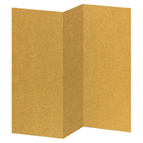 (Antique Gold Brochure, 8 1/2 x 11, Metallic Stardream 105lb Cover, 50 Pack)