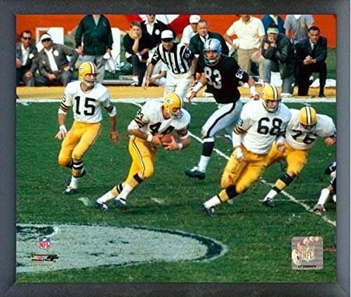 Bart Starr Green Bay Packers Action Photo (Size: 12