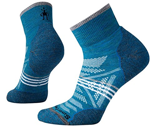 (Smartwool Women's PhD¿ Outdoor Light Mini Glacial Blue Medium)