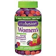 Vitafusion Women's Gummy Vitamins, Natural Berry Flavors...