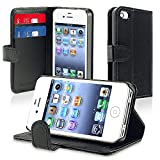 Best eForCity Waterproof iPhone 4 Cases - Insten Leather Case with Credit Card Wallet Review