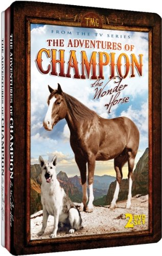The Adventures of Champion, The Wonder Horse - Embossed Slim-Tin Packaging