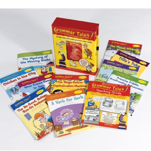 Scholastic 0439458153 Grammar Tales, 120-page Teaching Guide, for Grades 3 and -