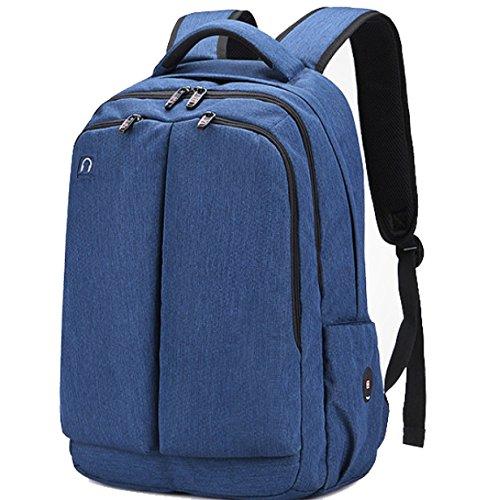 Bulage Bolsa Los Hombros Los Hombres Viaje Mochila Al Aire Libre Negocios Corta Vacaciones Ordenador Transpirable Elegante Resistente Al Agua Blue