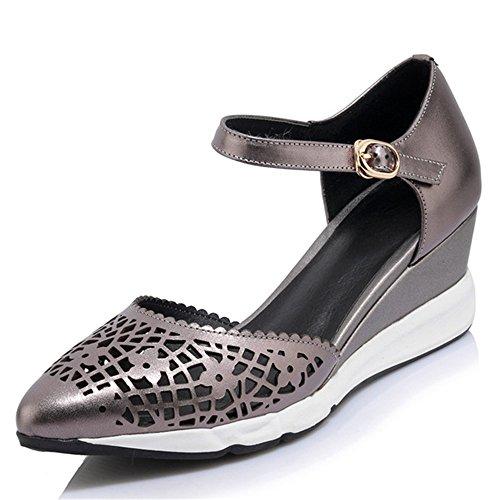 de SevenSandals Zapatos tacón negro Nine mujer xwE6qf6H
