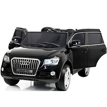 Voiture électrique 2 places 12V Audi Q5 Noire - Pack luxe  Amazon.fr ... 7a37531cf11d