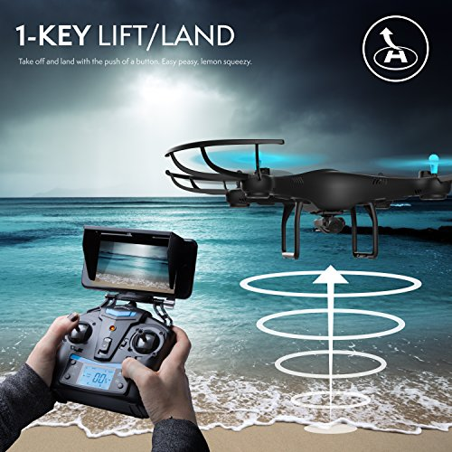 Force1-U45W-Blue-Jay-Wi-Fi-FPV-Drone-w-HD-Camera-Altitude-Hold-1-Key-TakeoffLanding-VR-Headset-Compatible-Drone-w-Customizable-Route-Mode