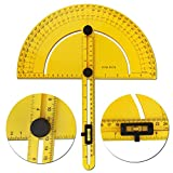 Multi Angle Finder – STARRICH Carpenter Protractor Tool with Level Ruler for Calculating Angles in Slope Construction for Builder Carpenter Craftsman and Engineer