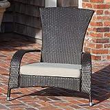 Patio Sense Coconino Wicker Chair For Sale