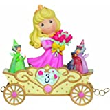 "Precious Moments / Disney ""Now You're Three, A Beauty You'll Always And Forever Be"" Sleeping Beauty Age Three Figurine"