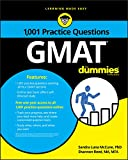 img - for 1,001 GMAT Practice Questions For Dummies book / textbook / text book