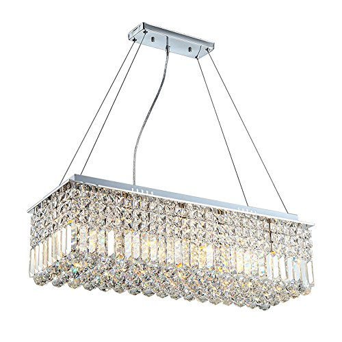 Modern Large Size Crysta Chandelier Ceiling Lighting Pendant Light Fixture for Living Room