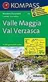 Valle Maggia - Val Verzasca: Wanderkarte. GPS-genau. 1:40000 (KOMPASS-Wanderkarten, Band 110)
