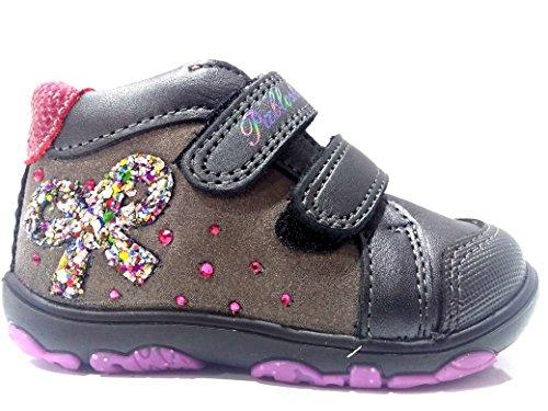 Premiers Pas Pablosky Pour Chaussures Gris Bébé fille fwwH5rRqE