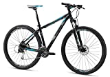 Mongoose Men's TYAX Comp Mountain Bicycle, Black, 18″/Medium/29″