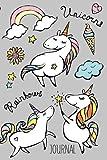 Unicorns Rainbows Journal: 100 page blank