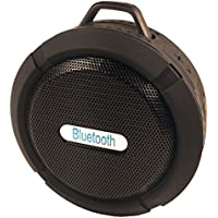 Portable Bluetooth Wireless Waterproof Speakers. Use in the Shower, Hot Tub and Pool - Excellent for Outdoor use - Sync with your iPhone or Android device