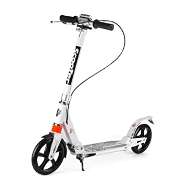 LXJYMX Scooter de Doble Freno, Patinete Scooter, Scooter ...