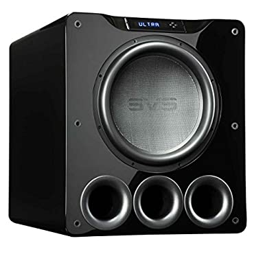 SVS PB16-Ultra 1500 Watt 16 Ported Cabinet Subwoofer (Piano Gloss Black)