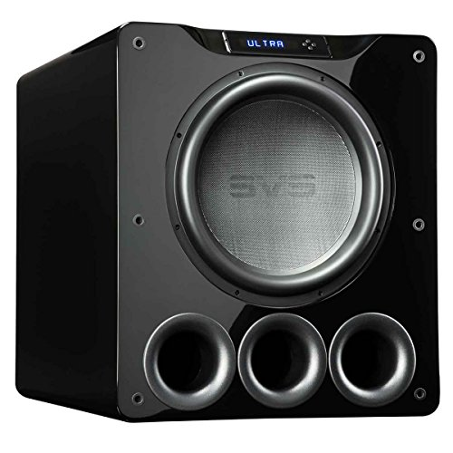 SVS PB16-Ultra 1500 Watt 16'' Ported Cabinet Subwoofer (Piano Gloss Black) by SVS