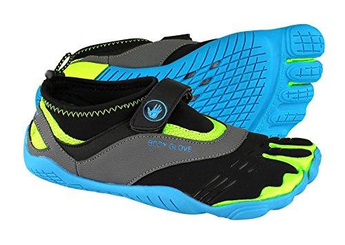 Body Glove Donna 3t Scarpa Da Acqua Maxi A Piedi Nudi Neon Blu / Giallo Neon