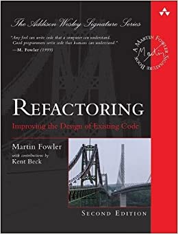Refactoring: Improving the Design of Existing Code (Addison-wesley Signature Series (Fowler)) 9780134757599 Object-Oriented Software Design at amazon