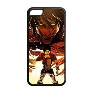 diy phone casecustomized Attack on Titan for iphone 5/5s TPU case 5C-brandy-140036diy phone case