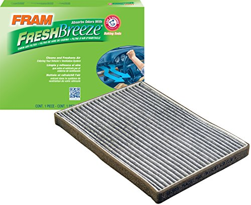 FRAM CF10731 Fresh Breeze Cabin Air Filter with Arm & Hammer