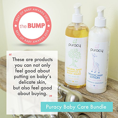 Buy organic baby wash and lotion