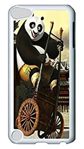 iPod 5 cases, iPod Touch 5 cases, Fashion 2011 Kung Fu Panda Lovely Pattern Bumper Protection [Heavy Drop Protection] Ultra Slim Hard White PC Snap-on Back Shell Protective Skin Case Cover For IPod Touch5 5th