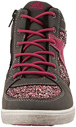 grau Sneaker Lico Alto pink Joana Collo Donna Grau A pink Blu 6OwqnpwH0B