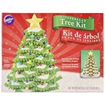 Wilton 2104-1916 Gingerbread Tree Cookie Kit, 31.1-Ounce