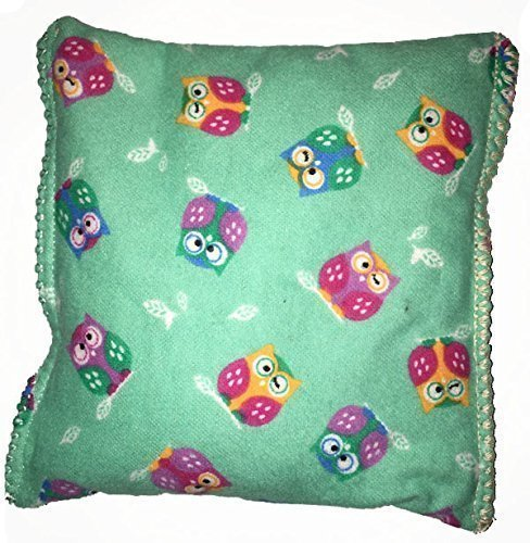 Owl 2 Boo-Boo Bags Hot/Cold Packs Reusable Ouchee Heat Packs Hot Cold Pack Microwave Heating Pad Reusable Ice Pack , Hot Therapy, Cold Therapy, Rice Pack, Booboo Pillow