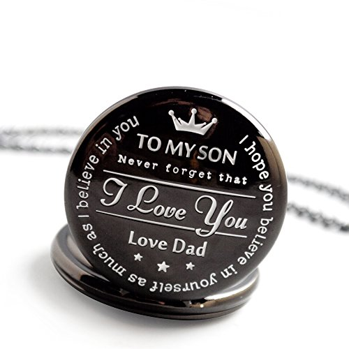 memory gift New Version Pocket Watch to My Son - Love dad Father to Son Gifts from a Father