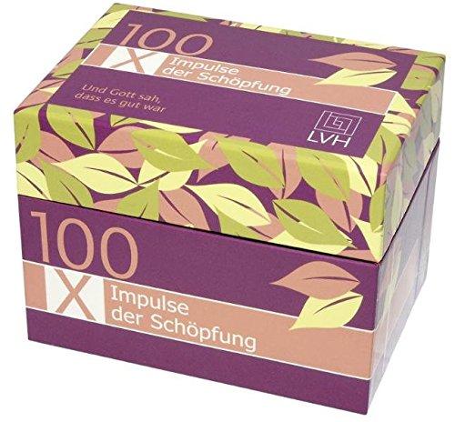 100 x Impulse der Schöpfung: 100 Impulskärtchen
