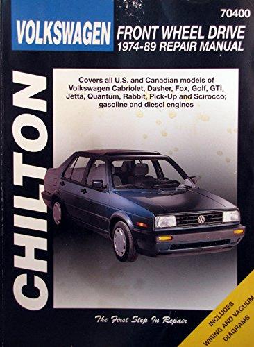 1974-89 Chilton Repair Manual - Volkswagen - #70400