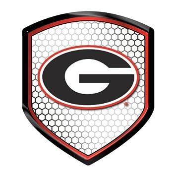 Amazon Georgia Bulldogs Ncaa Reflector Decal Auto Shield For