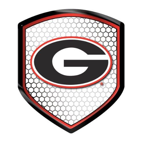 Georgia Bulldogs NCAA Reflector Decal Auto Shield for Car...