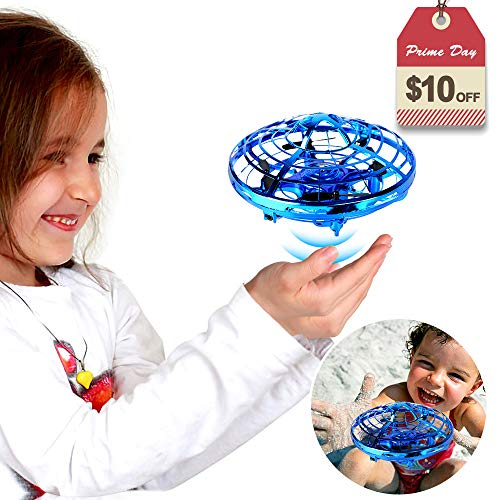 Hand Operated Drones Sharkool Hands Free Mini Drone Helicopter For Kids Or Adults Easy Indoor Or Outdoor Small Orb Flying Ball Drone Toys For Child