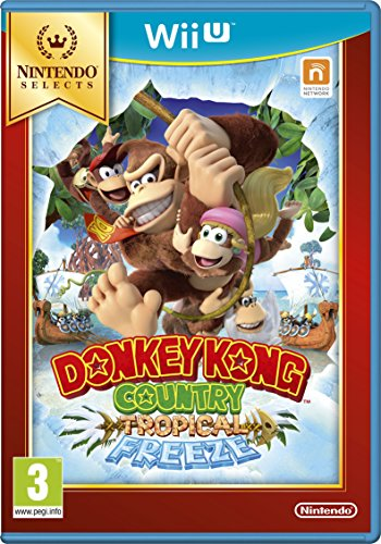 Nintendo Donkey Kong Country  Tropical Freeze Select   Wii U