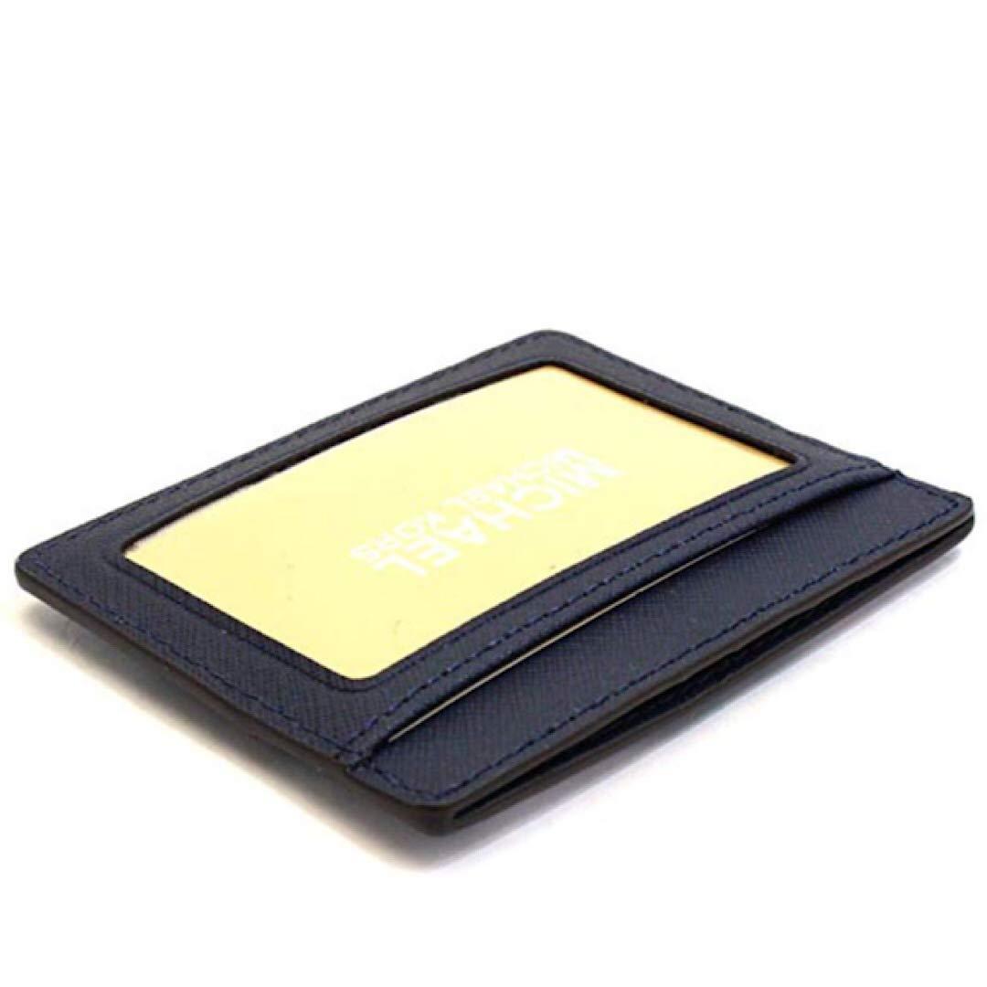 Michael Kors Jet Set Travel LG Card Holder Navy/Denim/White by Michael Kors (Image #2)