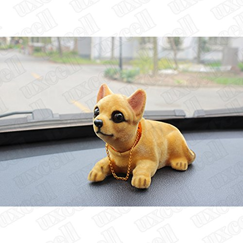Auto Vehicle Chihuahua Nodding Bobblehead Dashboard Dog Decor Toy Automobiles & Motorcycles Promotion Ornaments