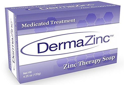 DermaZinc Soap - 4.25 Ounce (120 gram)