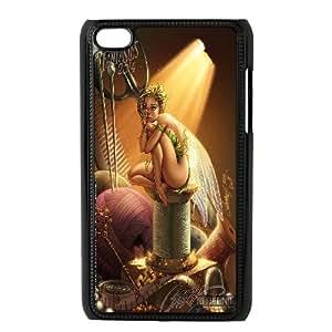 Fairy Sexy Girl Ipod Touch 4 Case, Case Kweet {Black}